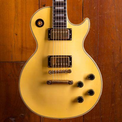 Gibson 1976 Les Paul Custom Alpine White