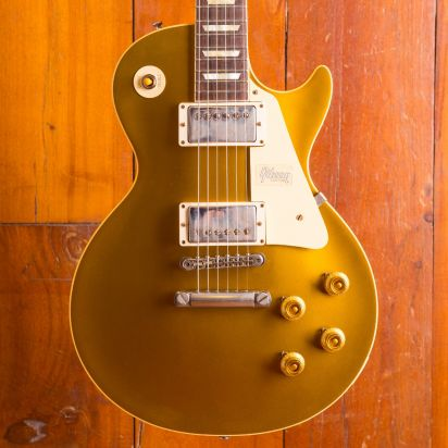 Gibson 57 Les Paul Gold Top Bolivian Double Gold