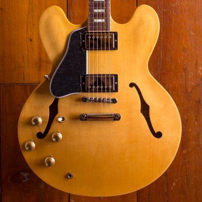Gibson ES-335 Lefty Traditional Dark Vintage Natural