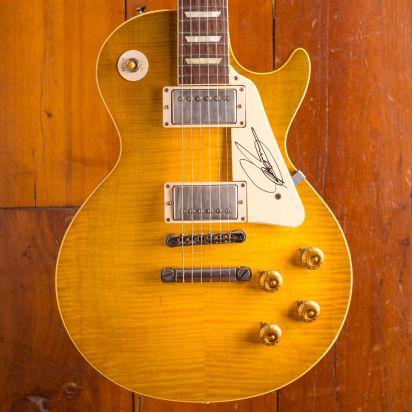 Gibson Custom Joe Bonamassa 1959 Les Paul Skinnerburst Aged & Signed #22/50