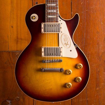 Gibson Custom Shop 1958 Les Paul Plaintop faded tobacco