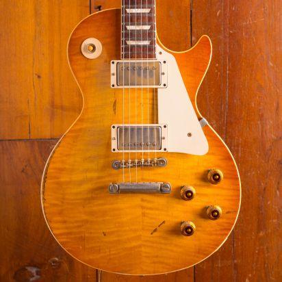 Gibson Custom Les Paul 1959 Lemon Burst Gary Rossington (Lynyrd Skynyrd) Aged # 85 / 250
