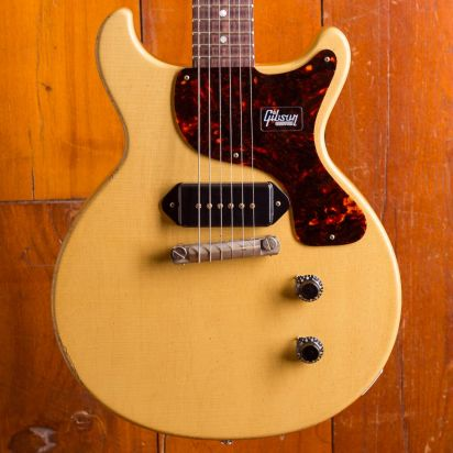 Gibson CS 1960 Les Paul JR Doublecut TV Yellow