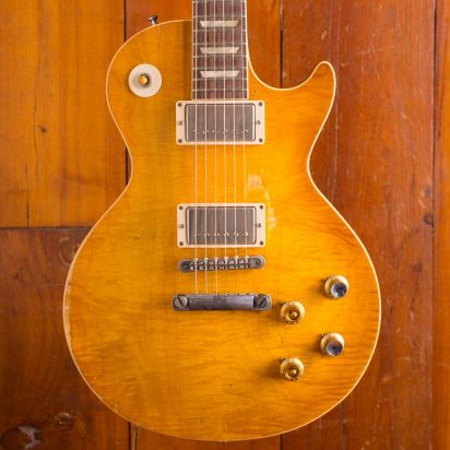 Gibson Custom Peter Green Collectors Choice 1959 Les Paul, #1, hand-signed by Peter Green and Gary Moore (SOLD)