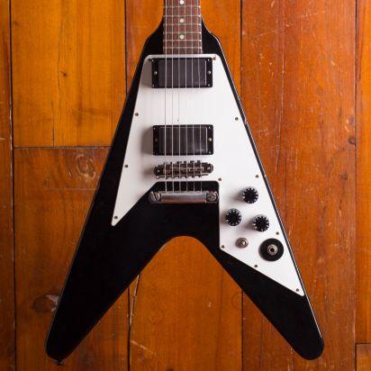Gibson Custom Flying V Kirk Hammet, Aged & Signed