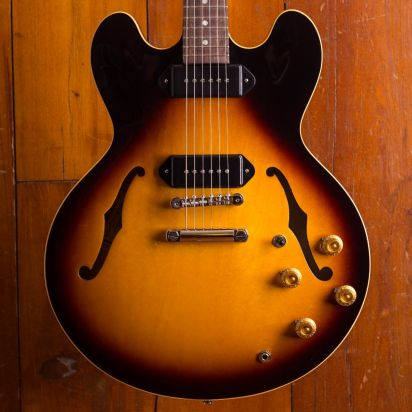 Gibson ES-335 Dot P-90 in Vintage Burst