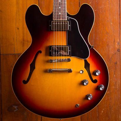 Gibson ES-335 Satin Sunset Burst