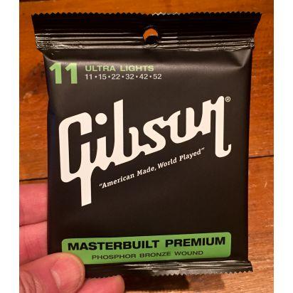 Gibson Masterbuilt Phosp .011-.052