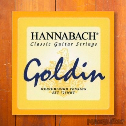 Hannabach 7253MHTC, Medium/High Tension Goldin, G3