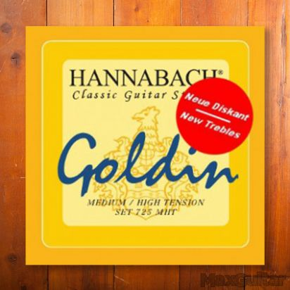 Hannabach 7255MHT, Medium/High Tension Goldin, A5