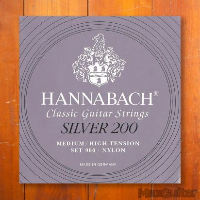 Hannabach 900MHT, Medium/High Tension Silver 200