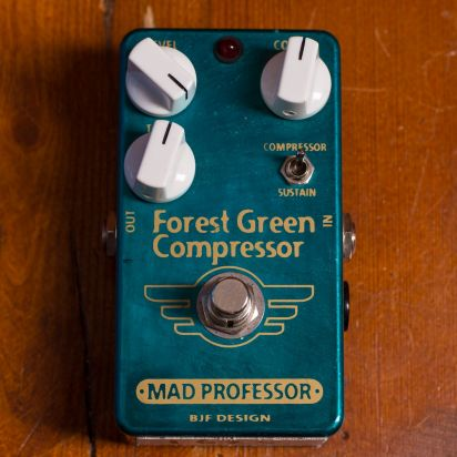 Mad Professor Pedals Forest Green Comp Handwired #004