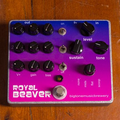 Big Tone Music Brewery FX Royal beaver