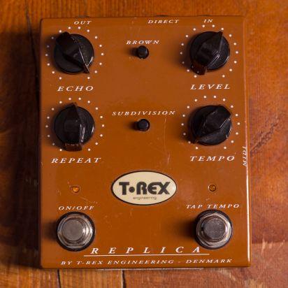 T-Rex Effects & Powersupplies Replica Delay