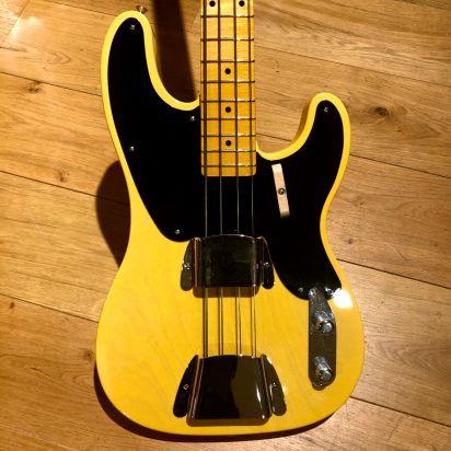 Fender  CS 1951 P-bass, Butterscotch