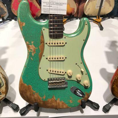 Fender CS NAMM LTD 1963 Stratocaster Super HR - SFA 3TS SPKL