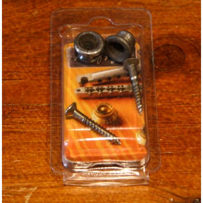 Maximum Upgrade Parts Aoa Gibson Strapbuttons Nickel Aged