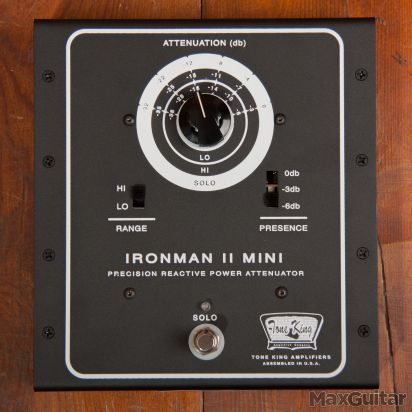 Tone King Ironman Mini 2 attenuator