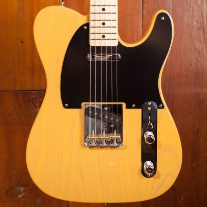 Fender American Original 50s Telecaster, Maple Fingerboard, Butterscotch Blonde