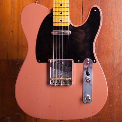 Fender CS Masterdesign 1952 Telecaster Journeyman Jason Smith Chevy Bittersweet #R18506