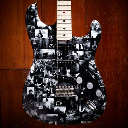 Fender CS Andy Summers Monochrome Stratocaster LTD