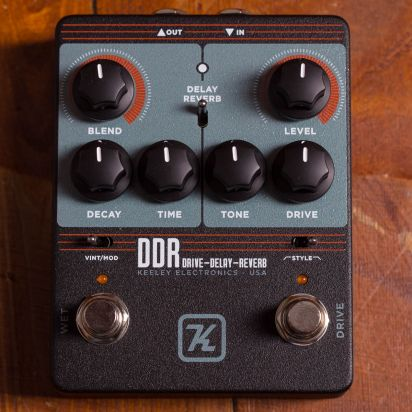 Keeley Keeley DDR, Drive Delay Reverb