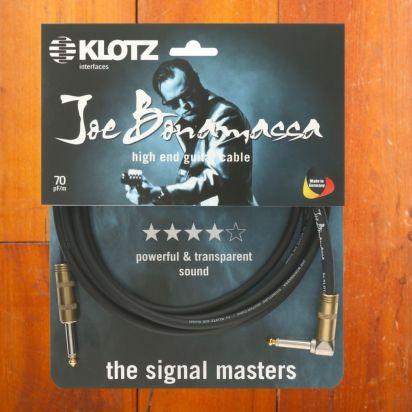 Klotz Joe Bonamassa, 6m, Angled - Straight