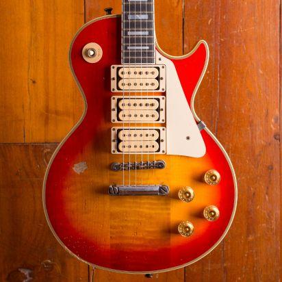 Gibson Custom Les Paul Custom 1974 Sunburst Ace Frehley 2012 #23 - 40  aged and signed