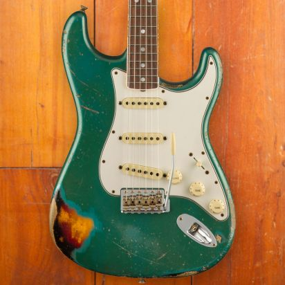 Fender CS LTD 1967, Aged Ocean Turqouise over 3-Color Sunburst