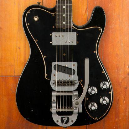 Fender CS LTD 70s Telecaster Custom, Journeyman Relic, Black