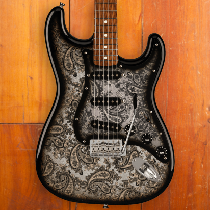 Fender LTD Black Paisley Stratocaster