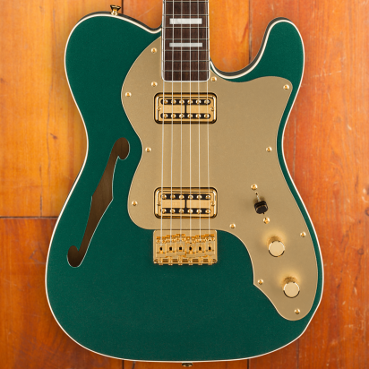 Fender LTD Super Deluxe Telecaster Thinline, Rosewood, Sherwood Green Metallic