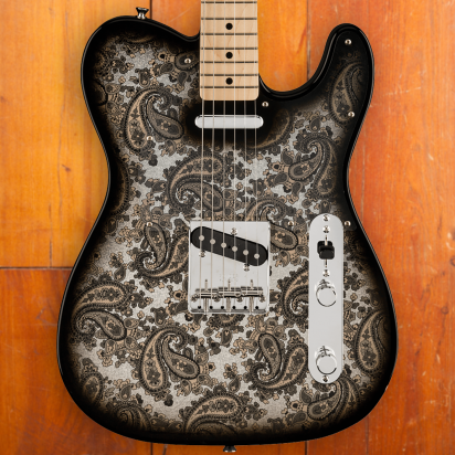 Fender LTD Black Paisley Telecaster