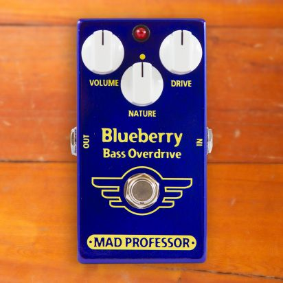 Mad Professor Pedals Blueberry Bass Overdrive