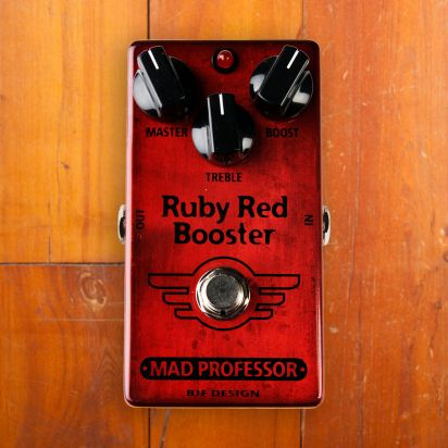 Mad Professor Pedals Ruby Red Booster