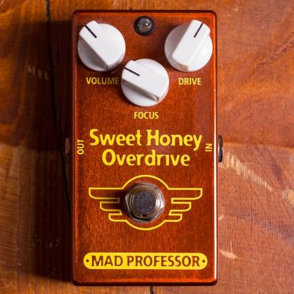 Mad Professor Pedals Sweet Honey