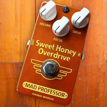 Mad Professor Pedals Sweet Honey Overdrive HW