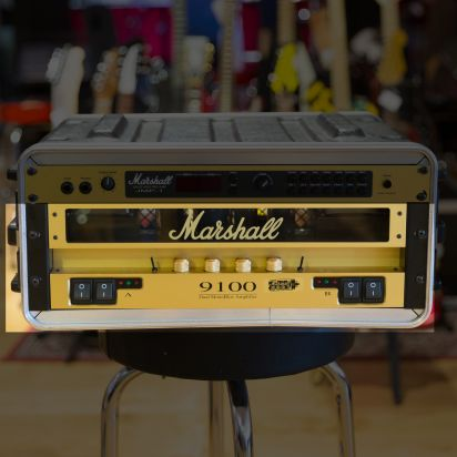 Marshall 9100 dual mono block valve power amp