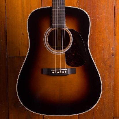 Martin Custom Shop Dreadnought Cocobolo Sunburst