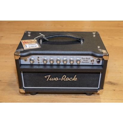 Two-Rock Studio Sig 35 Watt Head, Silver Chassis