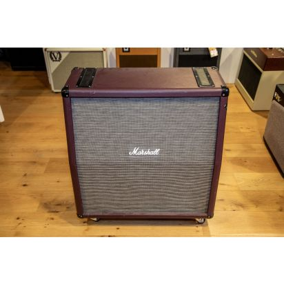 Marshall 1960A Cabinet Purple Tolex Basket Weave