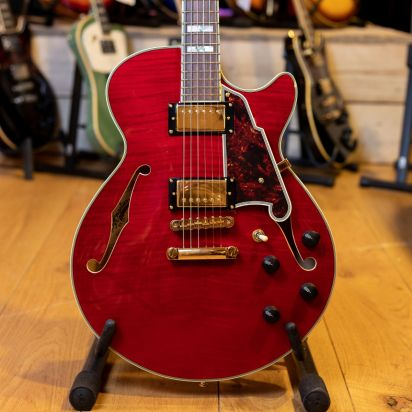 D'Angelico Excel SS stoptail, Cherry
