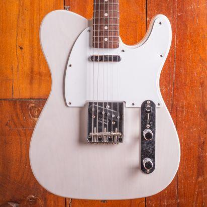 Fender Jimmy Page Mirror Tele light damage