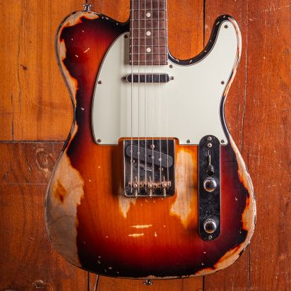 Diversen Suhr Classic T antique, sunburst heavy aged