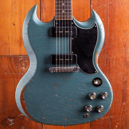 Gibson SG Special Pelham Blue Aged