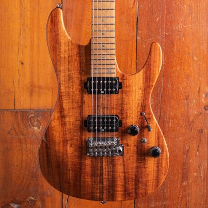 Ibanez AZ2402K Limited Edition with Koa Top in Natural