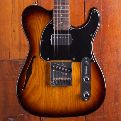 G&L Tribute Bluesboy Thinline Tobacco sunburst