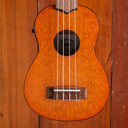 Kala  Exotic Mahogany Soprano Ukulele with EQ