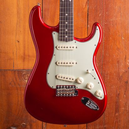 Fender CS 1960s Stratocaster NOS Candy Red Master Built Vincent van Trigt