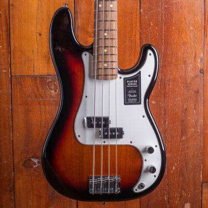 Fender Player Precision Bass Pau Ferro, 3-Color Sunburst